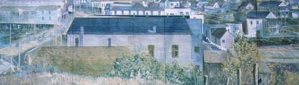 Willapa Harbor Building Murals