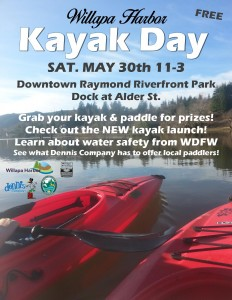kayak day poster