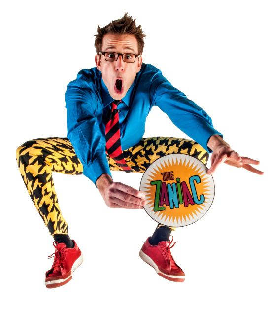 Sunday Afternoon Live Presents Zaniac Alex Zerbe in FREE Comedy Event