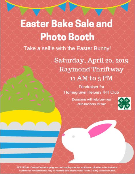 Easter Bake Sale and Photo Booth