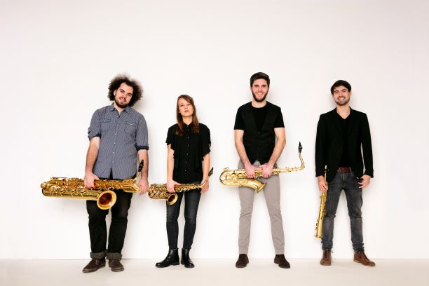 SAL presents ARCIS Saxophone Quartet October 27th 2pm at the Raymond Theatre