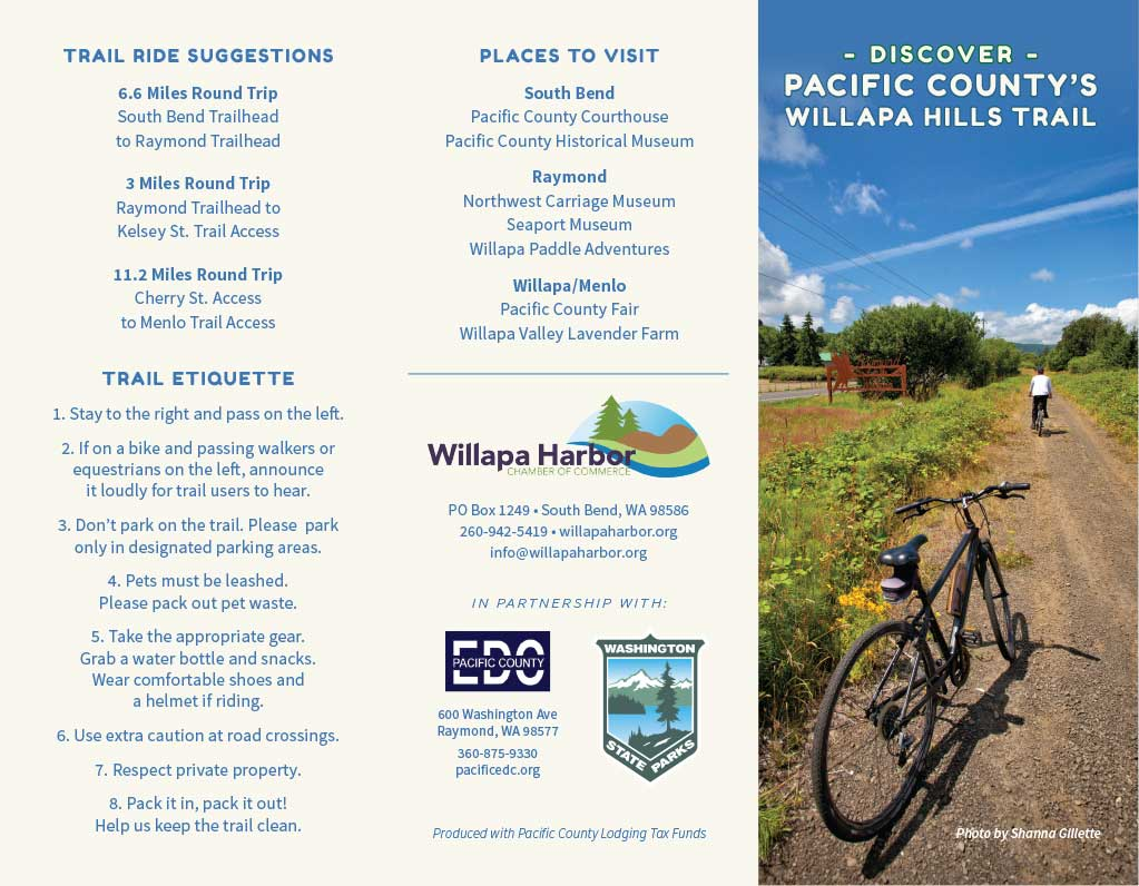 Willapa Hills Trail Brochure