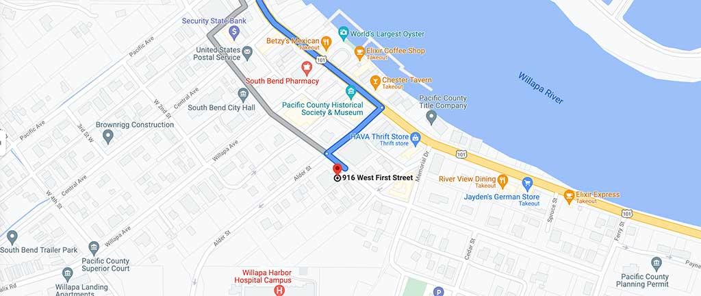 south bend community center map